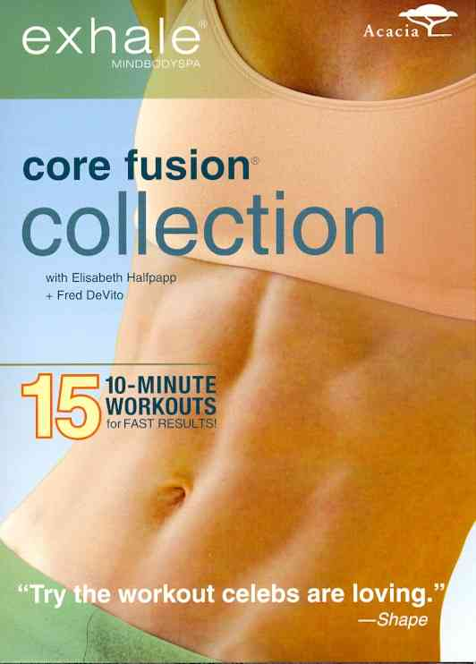 EXHALE:CORE FUSION COLLECTION BY DEVITO,FRED (DVD)